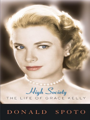 9781410423290: High Society: The Life of Grace Kelly (Thorndike Press Large Print Biography Series)