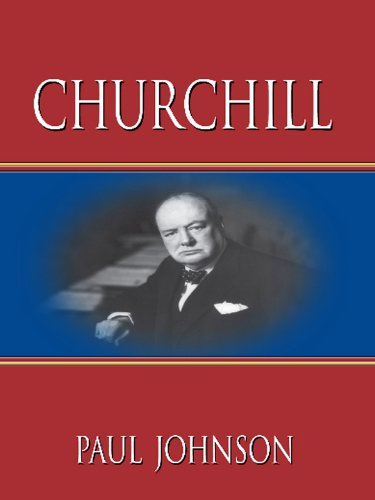 9781410423337: Churchill (Thorndike Biography)