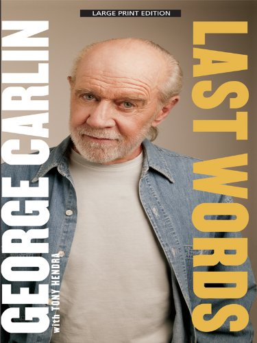 9781410424167: Last Words (Thorndike Biography)