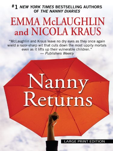 9781410424761: Nanny Returns (Wheeler Large Print Book Series)
