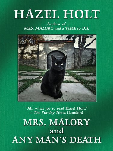 9781410424877: Mrs. Malory and Any Man's Death (Sheila Malone Mysteries)