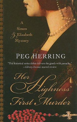 9781410425409: Her Highness' First Murder (Simon & Elizabeth Mystery)