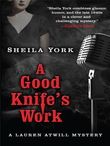 9781410425782: A Good Knife's Work (Thorndike Press Large Print Mystery Series)