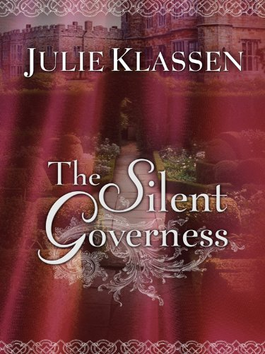 9781410425867: The Silent Governess (Thorndike Christian Romance)