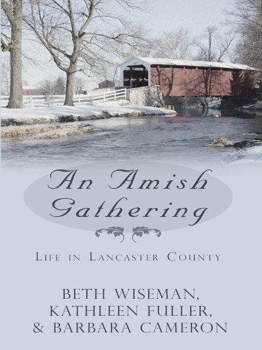 9781410425898: An Amish Gathering: Life in Lancaster County Three Amish Novellas (Thorndike Press Large Print Christian Romance)