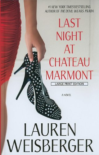 9781410426390: Last Night at Chateau Marmont (Wheeler Publishing Large Print Hardcover)