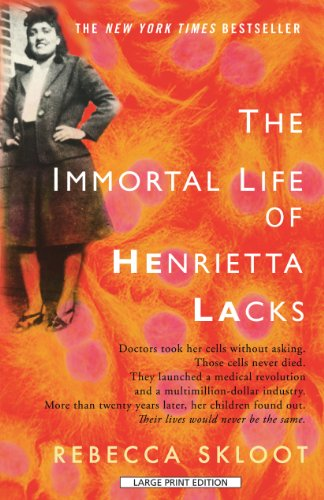 9781410427922: The Immortal Life Of Henrietta Lacks (Thorndike Press Large Print Popular and Narrative Nonfiction Series)