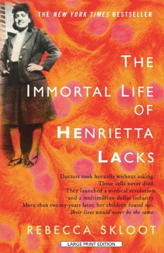 9781410427922: The Immortal Life Of Henrietta Lacks (Thorndike Press Large Print Popular and Narrative Nonfiction Series)