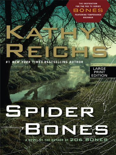 9781410428400: Spider Bones (Wheeler Large Print Book Series)