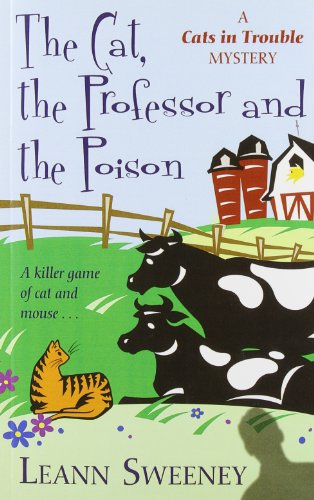 9781410428448: The Cat, the Professor and the Poison (Kennebec Large Print Superior Collection)