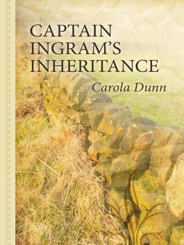 9781410428677: Captain Ingram's Inheritance (Thorndike Large Print Gentle Romance Series)