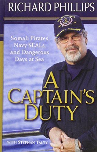 9781410429346: A Captains Duty (Thorndike Press Large Print Nonfiction Series)