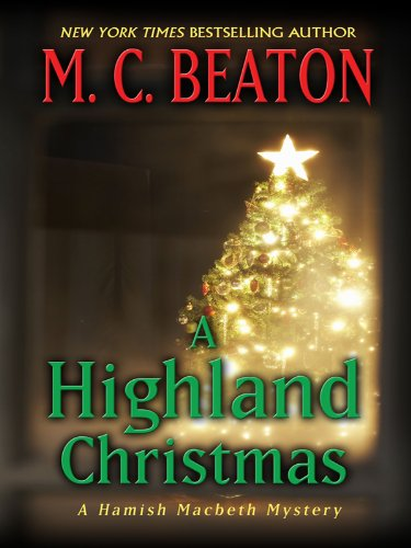 9781410430243: A Highland Christmas (Thorndike Press Large Print Mystery Series)