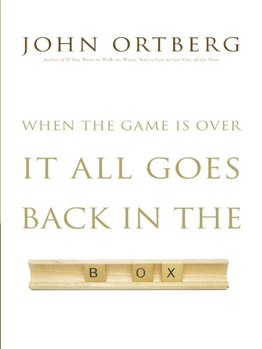 9781410430458: When the Game Is Over, It All Goes Back in the Box (Thorndike Press Large Print Inspirational Series)