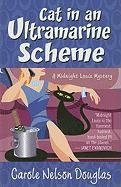 9781410430595: Cat in an Ultramarine Scheme (Thorndike Press Large Print Mystery: A Midnight Louie Mystery)