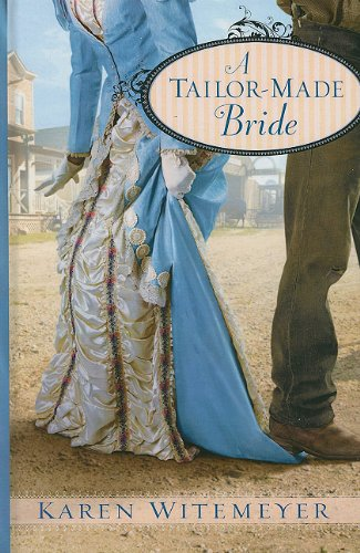 9781410430755: A Tailor-Made Bride (Thorndike Press Large Print Christian Romance)