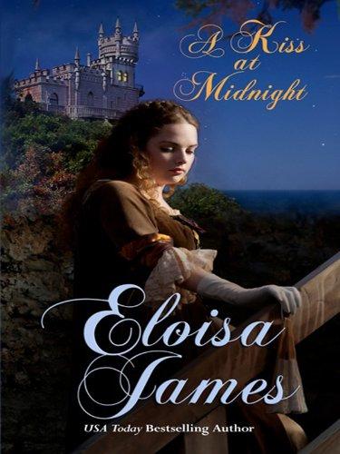 9781410432193: A Kiss at Midnight (Thorndike Press Large Print Romance Series)