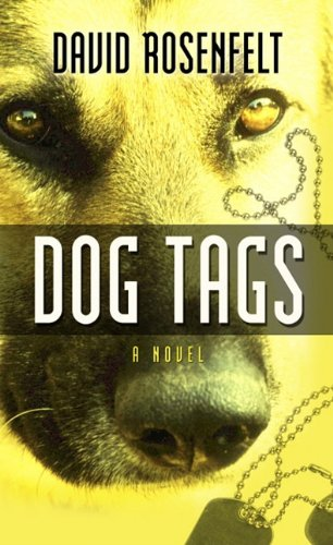 Dog Tags 9781410433282 A German shepherd police dog witnesses a murder and if his owner - an Iraq war vet and cop-turned-thief - is convicted of the crime, the