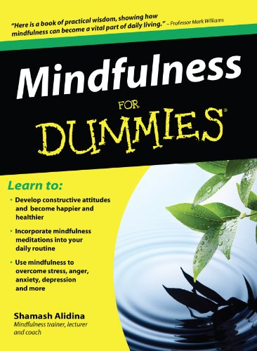 9781410434050: Mindfulness for Dummies: Foreword by Steven D. Hickman, Psy.D. (For Dummies (Large Print))