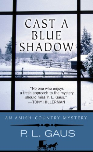 Cast a Blue Shadow (Thorndike Press Large: Gaus, P.L.