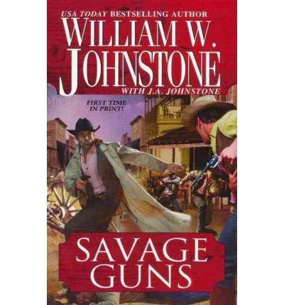 9781410435484: Savage Guns (Thorndike Large Print Western Series)