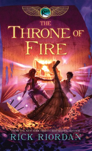 9781410436078: The Throne Of Fire (The Kane Chronicles)