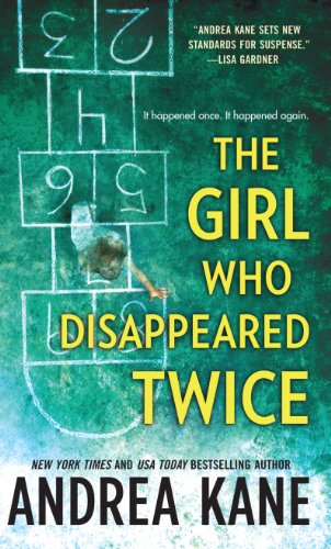 9781410437389: The Girl Who Disappeared Twice (Wheeler Large Print Book Series)