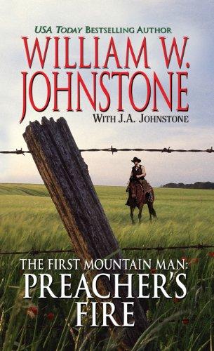 9781410437846: The First Mountain Man Preacher's Fire (Thorndike Large Print Western Series)