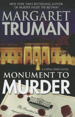 9781410438270: Monument to Murder (Capital Crimes Novel)