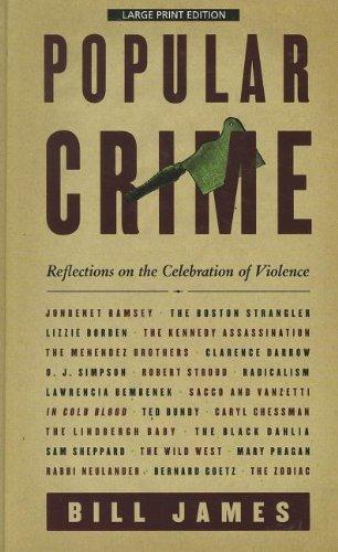9781410439666: Popular Crime: Reflections on the Celebration of Violence (Thorndike Large Print Crime Scene)
