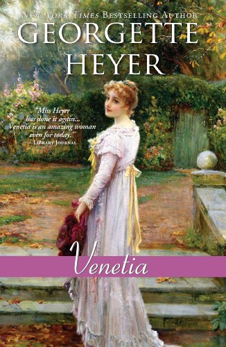 9781410440310: Venetia (Thorndike Press Large Print Clean Reads)