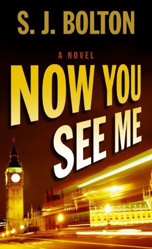 Now You See Me (Wheeler Publishing Large Print Hardcover): Bolton, S.J.
