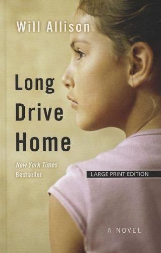 9781410442130: Long Drive Home (Wheeler Large Print Book Series)