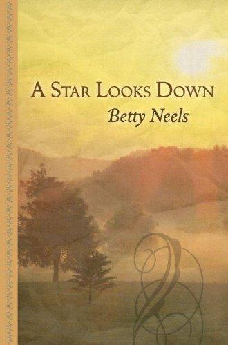 9781410442154: A Star Looks Down (Thorndike Large Print Gentle Romance Series)