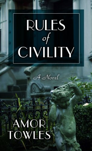 9781410443243: Rules Of Civility (Thorndike Reviewers' Choice)