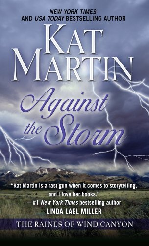 9781410444080: Against the Storm (Thorndike Press Large Print Basic Series)