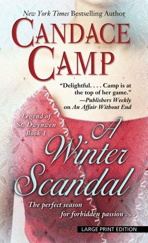 9781410444196: A Winter Scandal (Thorndike Press Large Print Basic: Legend of St. Dwynwen)