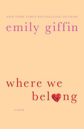 Where We Belong (Basic): Giffin, Emily