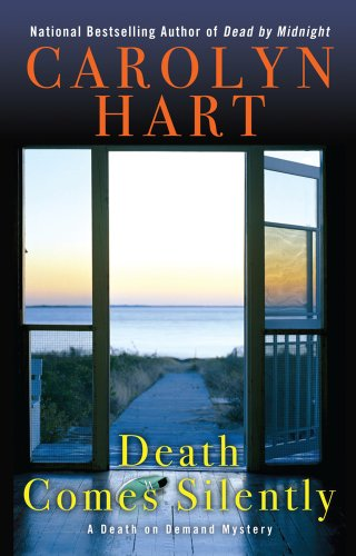 9781410447487: Death Comes Silently (Thorndike Press Large Print Mystery: Death on Demand)