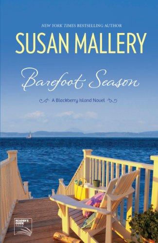 9781410447661: Barefoot Season (A Blackberry Island Novel: Thorndike Press Large Print Basic Series)