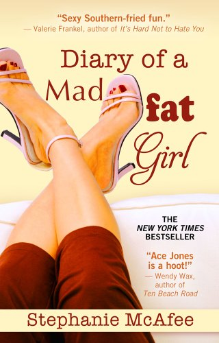 Diary of a Mad Fat Girl (Kennebec Large Print Superior Collection): McAfee, Stephanie