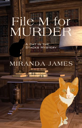 9781410449344: File M for Murder (A Cat in the Stacks Mystery)