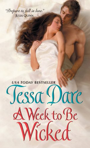 9781410449993: A Week to Be Wicked (Spindle Cove: Wheeler Publishing Large Print Hardcover)