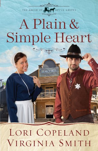 9781410450029: A Plain and Simple Heart (Thorndike Press Large Print Christian Historical Fiction: The Amish of Apple Grove)