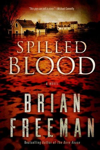 Spilled Blood (Wheeler Publishing Large Print Hardcover): Freeman, Brian