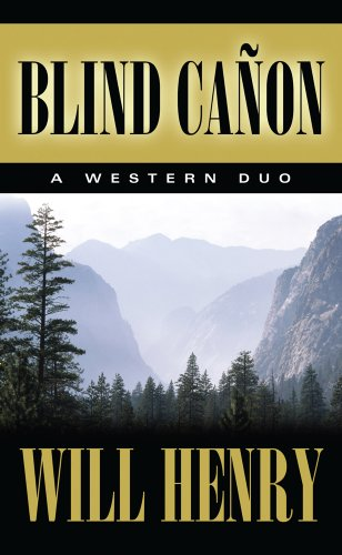 9781410451293: Blind Cañon: A Western Duo