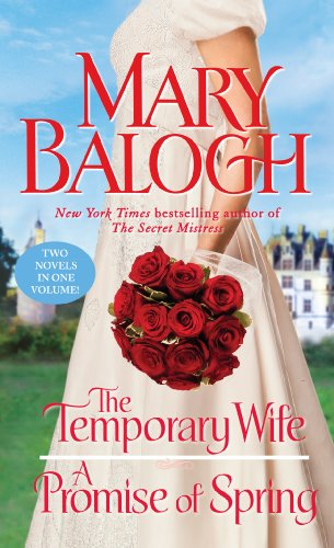 9781410451637: The Temporary Wife/A Promise of Spring (Thorndike Press large print Romance)