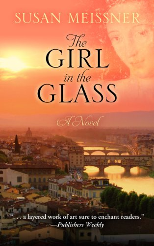 9781410454201: The Girl in the Glass (Thorndike Press Large Print Christian Fiction)