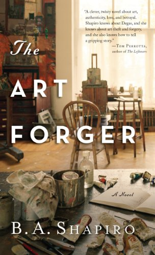 9781410455260: The Art Forger (Thorndike Press Large Print Peer Picks)