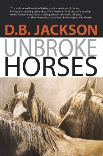 9781410456557: Unbroke Horses (Thorndike Press large print western)